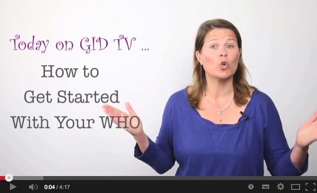 How to get started on your WHO [GID TV]