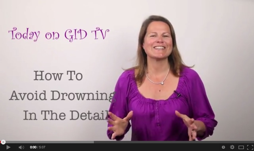 How to avoid drowning in the detail [GID TV]