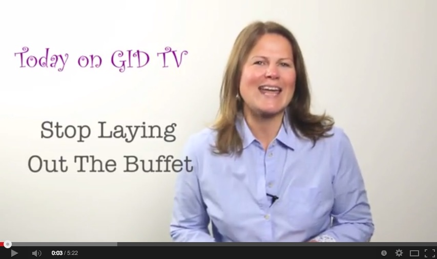 Stop laying out the buffet [GID TV]