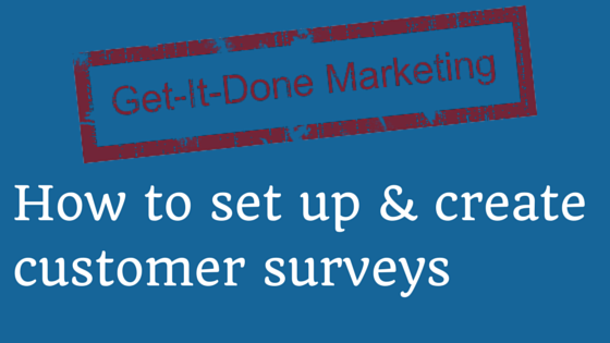 how to create customer surveys blog