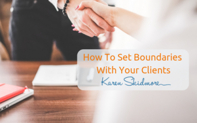 How to stop over delivering and set your professional boundaries