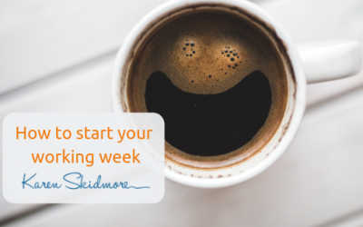 How to start your working week