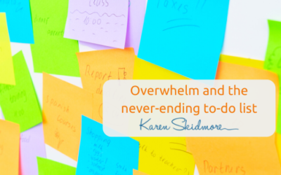Overwhelm and the never-ending to-do list