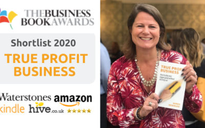 True Profit Business gets shortlisted by Business Book Awards