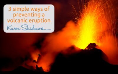 3 simple ways of preventing a volcanic eruption