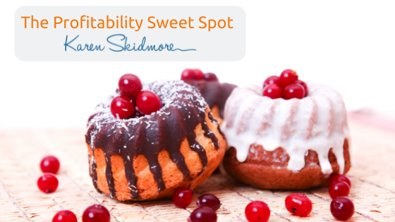 The Profitability Sweet Spot: a simple pricing formula to use with your next proposal or programme